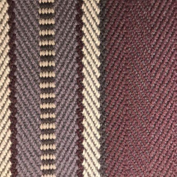 Moquette en laine tissée à plat