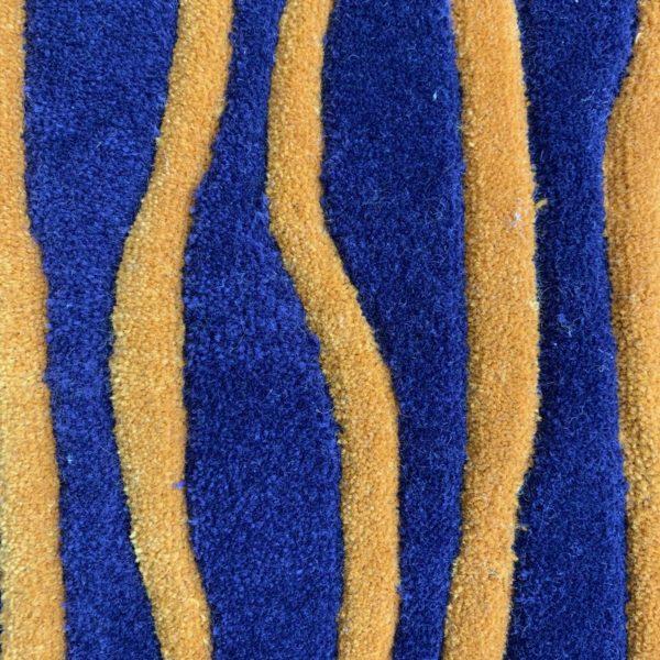 Moquette structurée en laine