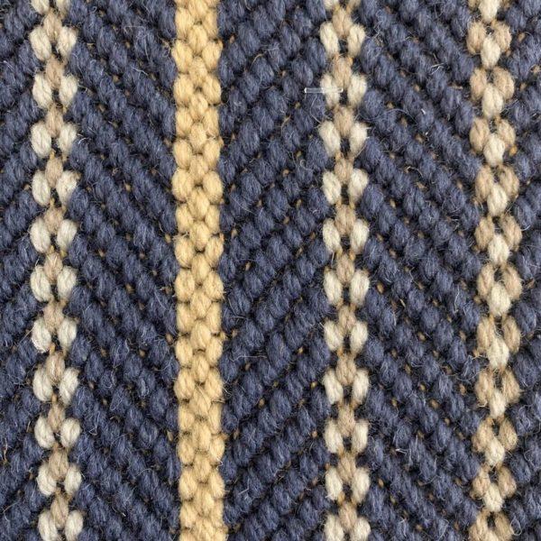 Moquette en laine avec motifs