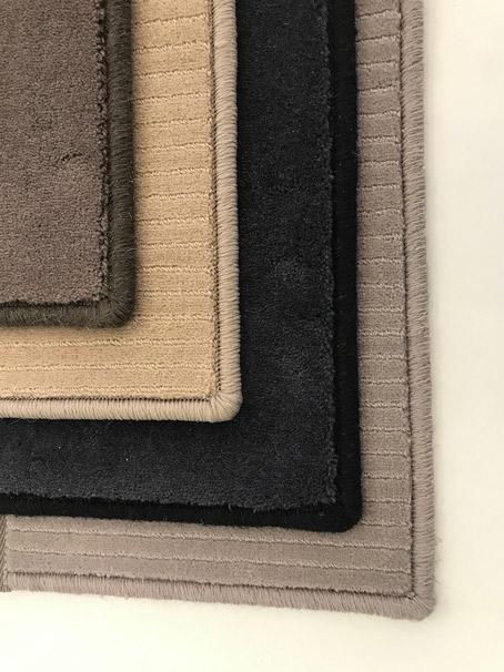 Finition surjet pour tapis en laine ou synthétique